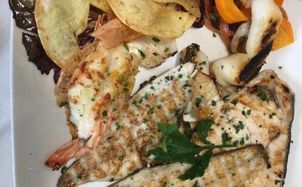 grigliata di pesce di mare